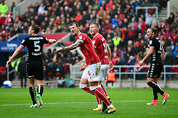 Aden Flint of Bristol City cuts a dejected figure  - Mandatory by-line: Dougie Allward/JMP - 21/10/2017 - FOOTBALL - Ashton Gate Stadium - Bristol, England - Bristol City v Leeds United - Sky Bet Championship