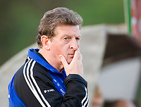 Finnish national team head coach Roy Hodgson. Finland - Kazakstan. Larnacal, Cyprus, February 28, 2006.