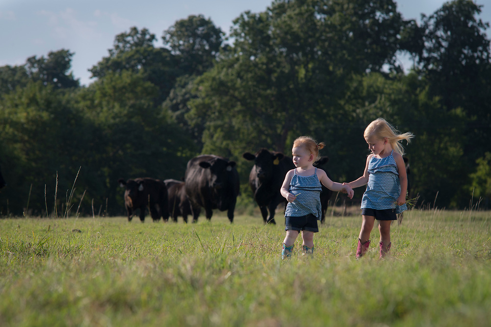 Blubaugh Angus Ranch in Kay County Oklahoma.<br /> Blubaugh Family