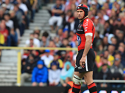 Matt Giteau of Toulon during the French Top 14 Semi Final match between ASM Clermont Auvergne and RC Toulon at the Stade Municipal on June 3, 2012 in Toulouse, France.