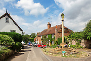 The village of Shere in the Surrey Hills