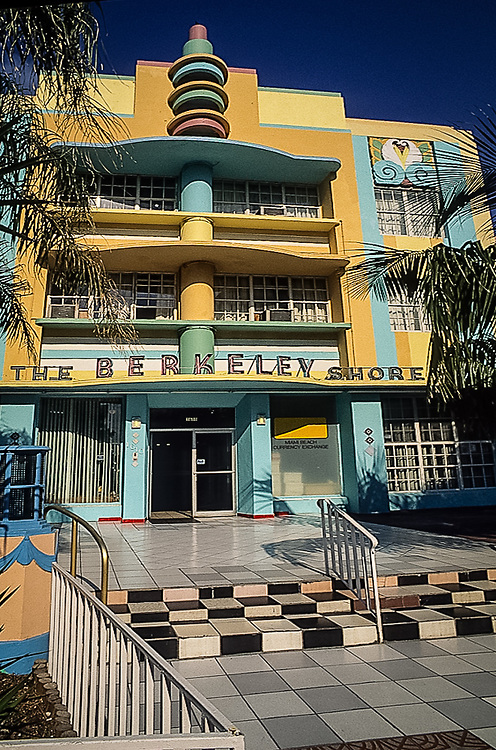 Berkeley Shores Hotel, Miami Beach, Florida, vintage