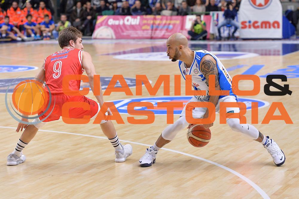 DESCRIZIONE : Campionato 2015/16 Serie A Beko Dinamo Banco di Sardegna Sassari - Grissin Bon Reggio Emilia<br /> GIOCATORE : David Logan<br /> CATEGORIA : Palleggio<br /> SQUADRA : Dinamo Banco di Sardegna Sassari<br /> EVENTO : LegaBasket Serie A Beko 2015/2016<br /> GARA : Dinamo Banco di Sardegna Sassari - Grissin Bon Reggio Emilia<br /> DATA : 23/12/2015<br /> SPORT : Pallacanestro <br /> AUTORE : Agenzia Ciamillo-Castoria/L.Canu