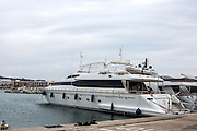 EXCLUSIVE<br /> HBOS scandal <br /> Powder Monkey, the £2million superyacht owned by David and Alison Mills<br /> ©Exclusivepix Media