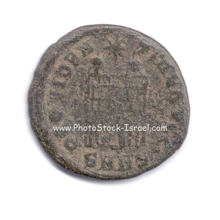 Ancient Roman Constantine coin from 84 CE