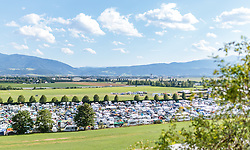 08.07.2017, Red Bull Ring, Spielberg, AUT, FIA, Formel 1, Grosser Preis von Österreich, Qualifying, im Bild Campingplatz, Uebersicht // Campsite Overview After the Qualifying of the Austrian FIA Formula One Grand Prix at the Red Bull Ring in Spielberg, Austria on 2017/07/08. EXPA Pictures © 2017, PhotoCredit: EXPA/ JFK