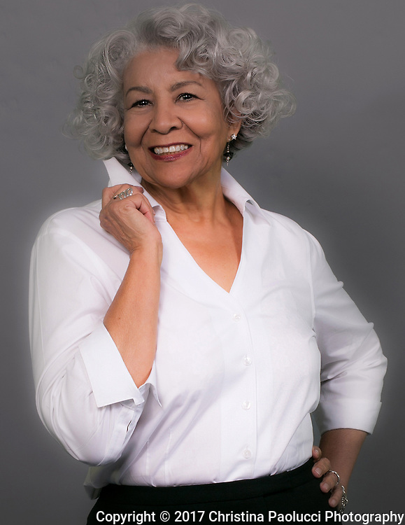 Anne Warren available for modeling for print or video productions in central Ohio. (silver hair; salt and pepper hair; 50-plus style; boomer; older adults).