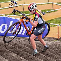 11-01-2020: Wielrennen: NK Veldrijden: Rucphen<br />Indy Verwaast
