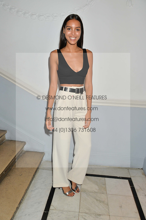 Singer ARLISSA at the Tatler Little Black Book Party held at Home House Private Member's Club, Portman Square, London supported by CARAT on 6th November 2014.