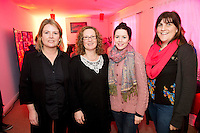 At the opening of Galway Rape Crisis Centre's new premises by Garry Hynes of Druid and newly appointed Patron of the GRCC were Anne Marie Fitzgerald, Máire Furlong Caitriona Keane Gemma McNally, all from GRCC. Picture:Andrew Downes.