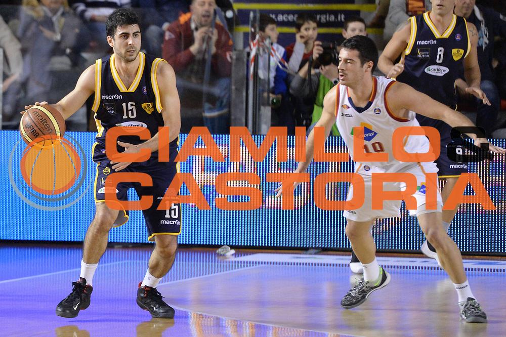 DESCRIZIONE : Campionato 2013/14 Acea Virtus Roma - Sutor Montegranaro<br /> GIOCATORE : Nemanja Mitrovic<br /> CATEGORIA : Controcampo Palleggio<br /> SQUADRA : Sutor Montegranaro<br /> EVENTO : LegaBasket Serie A Beko 2013/2014<br /> GARA : Acea Virtus Roma - Sutor Montegranaro<br /> DATA : 18/01/2014<br /> SPORT : Pallacanestro <br /> AUTORE : Agenzia Ciamillo-Castoria / GiulioCiamillo<br /> Galleria : LegaBasket Serie A Beko 2013/2014<br /> Fotonotizia : Campionato 2013/14 Acea Virtus Roma - Sutor Montegranaro<br /> Predefinita :