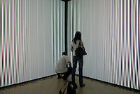 Op_Era Sonic Dimension by Brazilian artists Daniela Kutschat Hanns and Rejane Cantoni. Synthetic Times exhibition at NAMOC, Beijing, China.