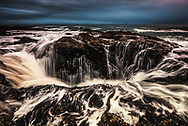 Thor's Well at Cape Perpetua, Oregon