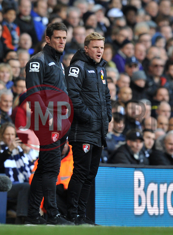 Bournemouth Manager Eddie Howe - Mandatory by-line: Paul Knight/JMP - Mobile: 07966 386802 - 20/03/2016 -  FOOTBALL - White Hart Lane - London, England -  Tottenham Hotspur v AFC Bournemouth - Barclays Premier League