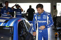 November 17, 2018 - Homestead, Florida, U.S. - Ricky Stenhouse, Jr (17) hangs out in the garage prior to second practice for the Ford 400 at Homestead-Miami Speedway in Homestead, Florida. (Credit Image: © Justin R. Noe Asp Inc/ASP)