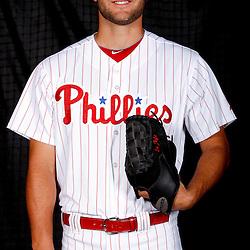 February 22, 2011; Clearwater, FL, USA; Philadelphia Phillies pitcher Michael Schwimer (78) poses during photo day at Bright House Networks Field. Mandatory Credit: Derick E. Hingle