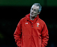 Rob Howley, Attack Coach of Wales<br /> <br /> Photographer Simon King/Replay Images<br /> <br /> Six Nations Round 5 - Wales v Ireland Captains Run - Saturday 15th March 2019 - Principality Stadium - Cardiff<br /> <br /> World Copyright © Replay Images . All rights reserved. info@replayimages.co.uk - http://replayimages.co.uk