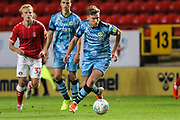 Forest Green Rovers Dayle Grubb(8) runs forward during the EFL Cup match between Charlton Athletic and Forest Green Rovers at The Valley, London, England on 13 August 2019.