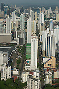 Skyscrapers in San Francisco neighbourhood, Panama City, Panama, Central America
