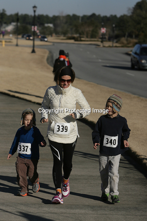 The inaugural Beethoven 15k & 5K was held Sunday January 26, 2014 at Brunswick Forest in Leland, N.C. The race benefited The Wilmington Symphony Orchestra. (Jason A. Frizzelle)