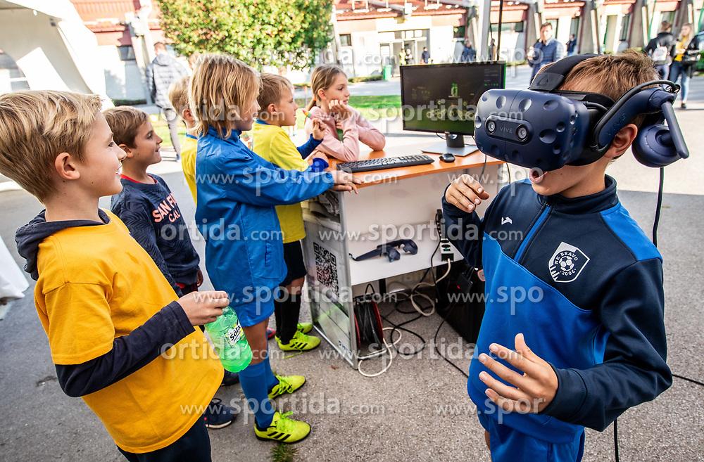 Fun event during football match between NK Bravo and NK Celje in 13th Round of Prva liga Telekom Slovenije 2019/20, on October 5, 2019 in ZAK stadium, Ljubljana, Slovenia. Photo by Vid Ponikvar / Sportida