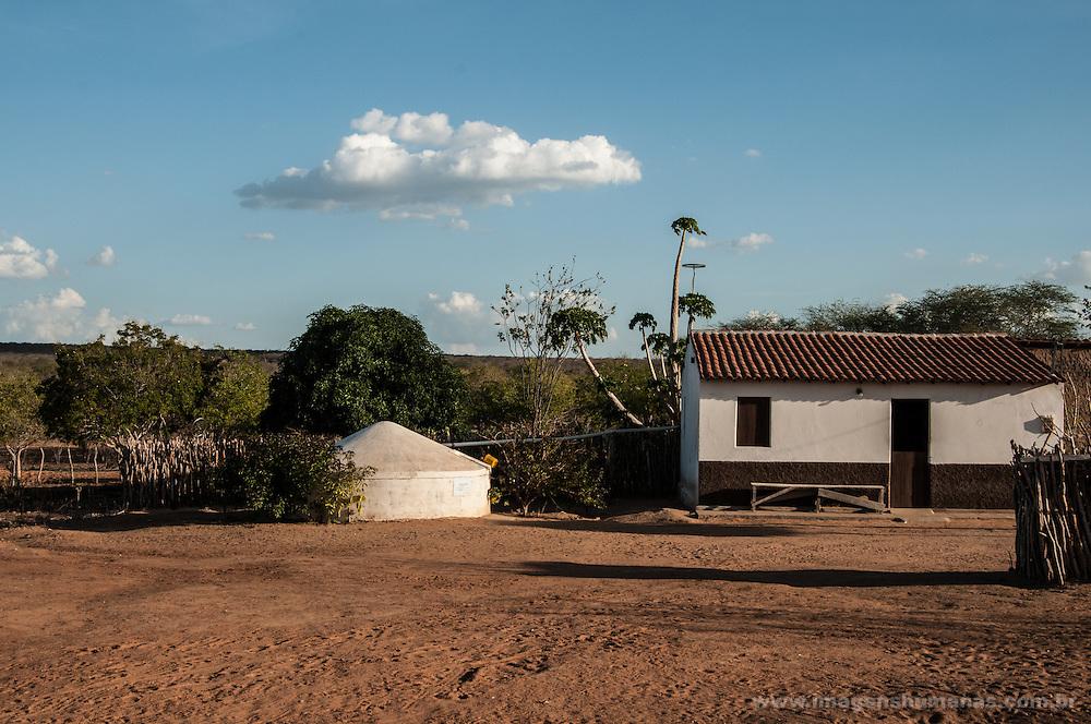 Comunidade Roça Velha, Floresta,Pernambuco, Brasil. Há doias anos sem chuva.