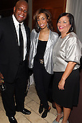16 October 2010-New York, NY-  l to r: Rick Wade, Tracey Ferguson, Editor-in-Chief, Jones Magazine and Debra L. Lee, President and CEO, BET at The Black Girls Rock! Shot Caller's Reception Presented by Beverly Bond and BET held at Fred's at Barneys New York on October 15, 2010 in New York City. ..BLACK GIRLS ROCK! Inc. is 501(c)3 non-profit youth empowerment and mentoring organization established to promote the arts for young women of color, as well as to encourage dialogue and analysis of the ways women of color are portrayed in the media. Photo Credit:.Terrence Jennings..