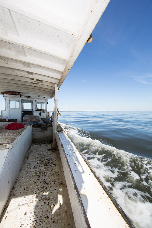 Placing traps in a new area of the Chesapeake Bay | October 11, 2015