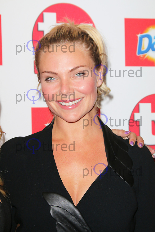 Samantha Womack, TV Choice Awards, The Dorchester Hotel, London UK, 09 September 2013, Photo by Richard Goldschmidt