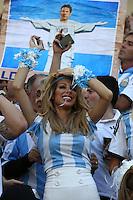Fifa Soccer World Cup - Brazil 2014 - CLOSING CEREMONY before the FINAL MATCH  - Estadio do Maracana Rio De Janeiro (BRA)  -Brazil (BRA) - 13 July 2014 <br /> Here Argentine famous TV girls<br /> The Shiquipolitaki sisters. <br /> © PikoPress