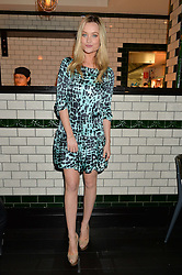 LAURA WHITMORE at a party to celebrate the publication of Honestly Healthy Cleanse by Natasha Corrett held at Tredwell's Restaurant, 4a Upper St.Martin's Lane, London on 14th January 2015.
