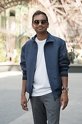 Aziz Ansari attending the Chanel Haute Couture Fall/Winter 2017-2018 show as part of Haute Couture Paris Fashion Week in Paris, France, on July 4, 2017. Photo by Alban Wyters/ABACAPRESS.COM