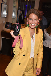 Lara Arnott at The Tribe Syndicate launch party hosted by Highclere Thoroughbred Racing at Beaufort House, 354 King's Rd, London England. 25 April 2018.
