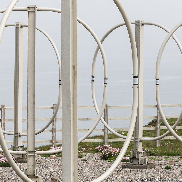 Penhale Sands Receiving Station, HF loop antenna, Cornwall
