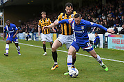 Gillingham's Andrew Crofts during the Sky Bet League 1 match between Gillingham and Port Vale at the MEMS Priestfield Stadium, Gillingham, England on 16 April 2016. Photo by Martin Cole.