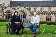 The Reverend Canon Mandy Coutts and Head Verger Jon Howard, both of Bradford Cathedral.