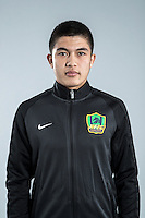 Portrait of Chinese soccer player Anwar Memet-Ali of Guizhou Hengfeng Zhicheng F.C. for the 2017 Chinese Football Association Super League, in Guiyang city, southwest China's Guizhou province, 23 February 2017.