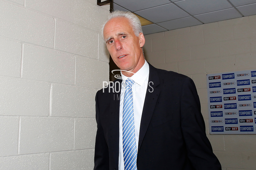 Ipswich Town manager Mick McCarthy during the EFL Sky Bet Championship match between Burton Albion and Ipswich Town at the Pirelli Stadium, Burton upon Trent, England on 14 April 2017. Photo by Richard Holmes.