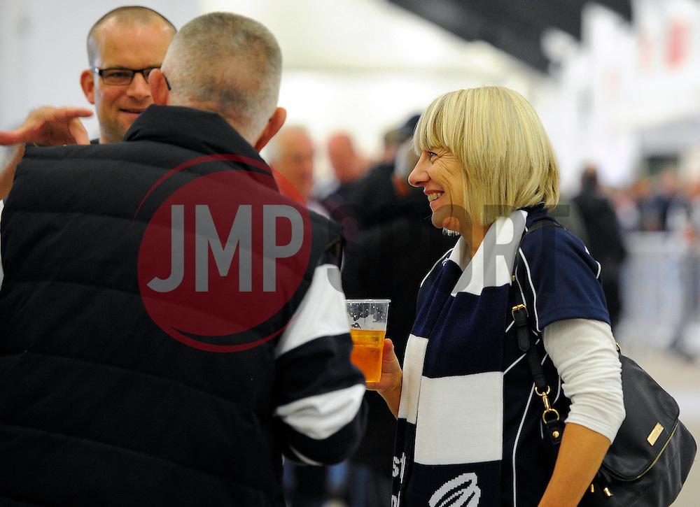 Bristol Fans pre match  - Mandatory byline: Joe Meredith/JMP - 07966386802 - 04/10/2015 - RUGBY - Ashton Gate -Bristol,England - Bristol Rugby v Rotherham Titans - Greene King IPA Championship