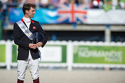 Team GBR won silver in the team test eventing - Alltech FEI World Equestrian Games™ 2014 - Normandy, France.<br /> © Hippo Foto Team - Jon Stroud<br /> 31-08-14