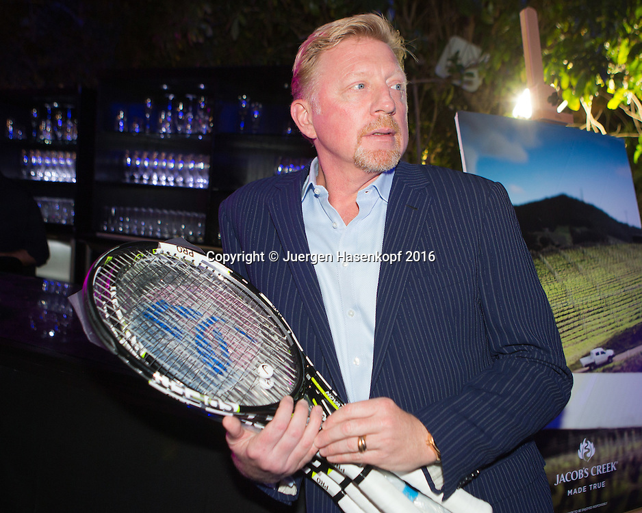 Dubai ATP Players Party, Boris Becker (GER),privat,<br /> <br /> Tennis - Dubai Duty Free Tennis Championships - ATP -   - Dubai -  - United Arab Emirates  - 23 February 2016. <br /> &copy; Juergen Hasenkopf