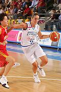 DESCRIZIONE : Ortona Italy Italia Eurobasket Women 2007 Italia Spagna Italy Spain <br /> GIOCATORE : Raffaella Masciadri <br /> SQUADRA : Nazionale Italia Donne Femminile EVENTO : Eurobasket Women 2007 Campionati Europei Donne 2007 <br /> GARA : Italia Spagna Italy Spain <br /> DATA : 29/09/2007 <br /> CATEGORIA : Penetrazione <br /> SPORT : Pallacanestro <br /> AUTORE : Agenzia Ciamillo-Castoria/S.Silvestri Galleria : Eurobasket Women 2007 <br /> Fotonotizia : Ortona Italy Italia Eurobasket Women 2007 Italia Spagna Italy Spain <br /> Predefinita :