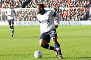 Kazenga Lualua (25) during the EFL Sky Bet Championship match between Nottingham Forest and Luton Town at the City Ground, Nottingham, England on 19 January 2020.