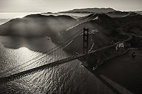 Golden Gate Glory (monochrome)