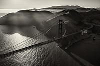 Golden Gate Glory (monochrome)
