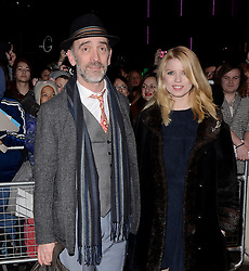 Adrian Schiller and guest attend The 10th What's On Stage Awards at The Prince Of Wales Theatre, London on Sunday 15  February 2015