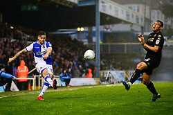 James Clarke of Bristol Rovers crosses the ball - Mandatory by-line: Dougie Allward/JMP - 24/04/2018 - FOOTBALL - Memorial Stadium - Bristol, England - Bristol Rovers v Wigan Athletic - Sky Bet League One