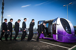 Client: London Heathrow Airport.  Business parking shoot. Photo: David Poultney