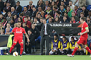 Sevilla Manager Unai Emery during the Europa League Final match between Liverpool and Sevilla at St Jakob-Park, Basel, Switzerland on 18 May 2016. Photo by Phil Duncan.