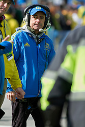 2013 Boston Marathon: Dave McGillivray, race director, at start